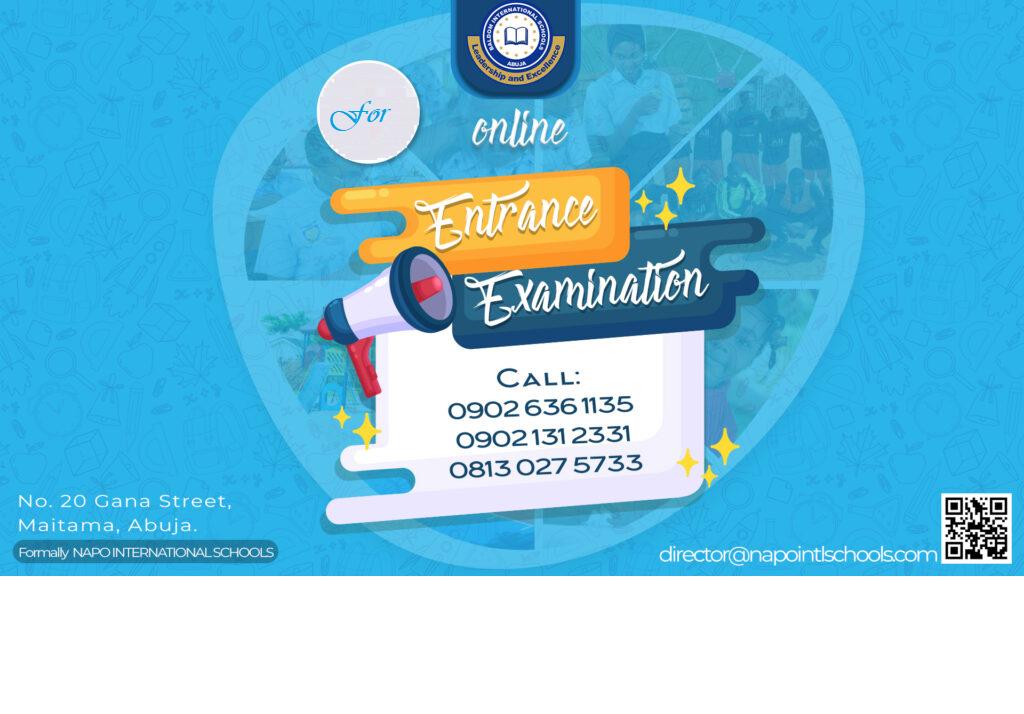 Online Entrance Examination